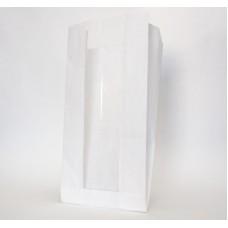 Пакет бумажный 130х100х300 мм с окном, ОДП 40