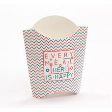 Коробка для картофеля ФРИ 32х82х130 мм, БОЛЬШАЯ Happy Life