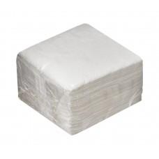 Салфетки бумажные 100 л 1 сл, белые