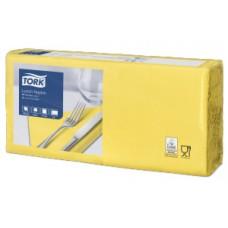 Tork салфетки 33х33 желтые