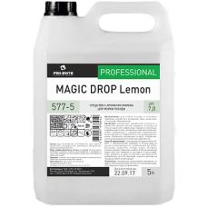 MAGIC DROP Lemon Средство с ароматом лимона для мойки посуды