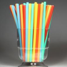 Трубочки для коктейля d=8 мм I=240 мм, цветные