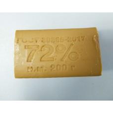 Мыло хозяйственное 72% 200 г