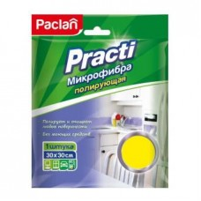 Салфетка хозяйственная Paclan микрофибра 30х30 см