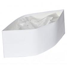 Пилотка бумажная белая ToMoS