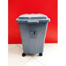 Бак для мусора на колёсах 70 л