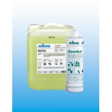 Sanikal щелочное средство для ежедневной уборки санитарных помещений