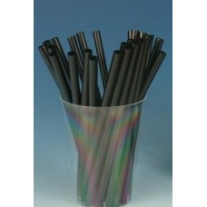 Трубочки для мартини d=5мм I=125мм, черные