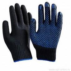 Перчатки ХБ зимние