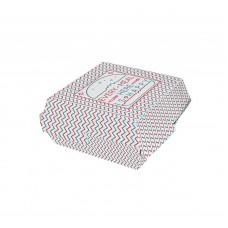 Коробка для гамбургера Happy Life 120х120х70 мм