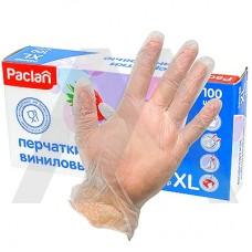 Виниловые перчатки Paclan