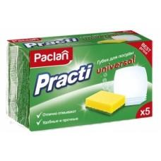 Губки для посуды PACLAN Practi Universal, 5 шт