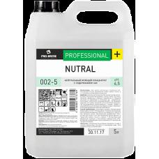 NUTRAL Нейтральный моющий концентрат с содержанием час