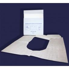 Одноразовое туалетное покрытие на унитаз ¼ сложение
