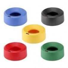 Крышка для контейнера ИРИС 50 л воронкообразная круглая